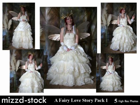 A Fairy Love Story Pack 1 by mizzd-stock