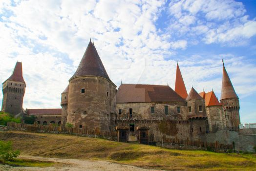 The Corvin's Castle - another perspective by ice4you