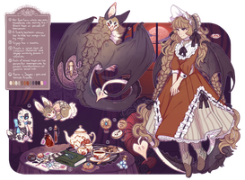~Lady of Blood Moon Manor~(Closed) by LunarAdopts