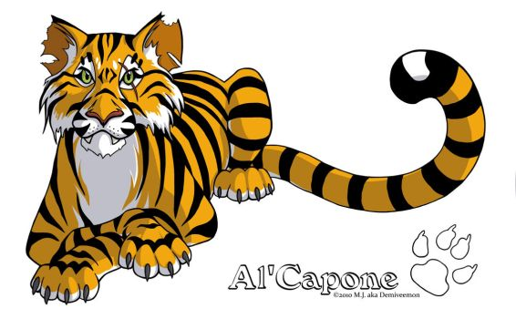Siesta - Al'Capone the Tiger by demiveemon