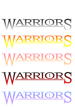 Custom Warriors logo (free to use) by PaintedSerenity