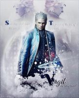 Vergil Wallpaper. by MaryLander97