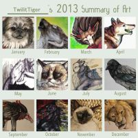 2013 Summary of Art by TwilitTiger