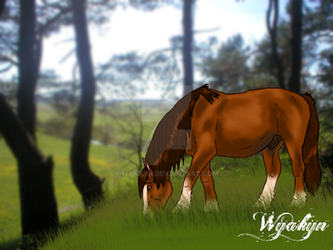 Grazing in peace by Wyakyn