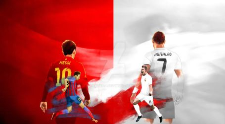 Barcelona vs Real Madrid by ideoteqa