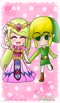 .: Collab: I Love Walking With You :. by PinkPrincessBlossom
