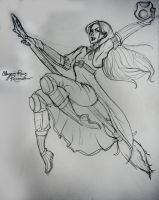ravenclaw chaser by niitsvee