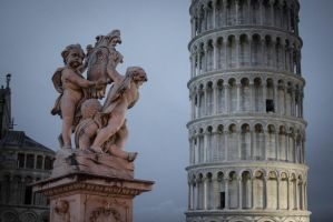 Pisa tower - Italy by roguen323