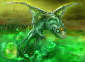 Swamp Dragon by Holt5