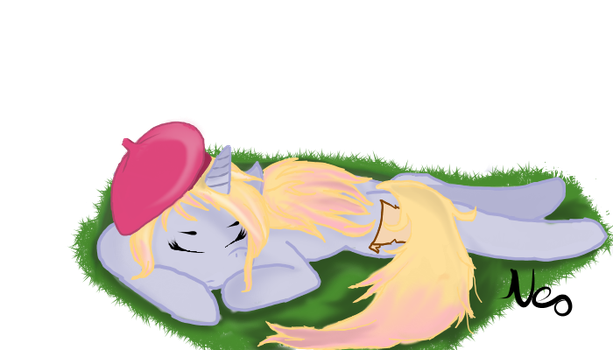 Taking a nap. by NeoEstival