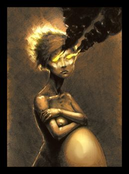 Cassandra's tragedy. The curse of the Seer by hypnothalamus
