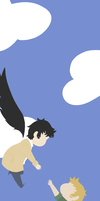 Destiel Bookmark by SazzyPantz