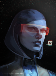 EDI by StarshipSorceress