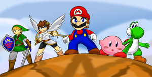 The Five Warriors of Subspace by Xero-J