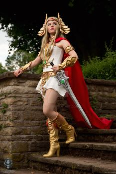 She-Ra -Princess of Power- by NiKcKu