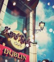 Hard Rock Cafe DUBLIN. by just-me-just-i