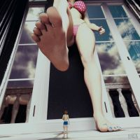 A Painful Breakup | Giantess Girlfriend by GTSX3D
