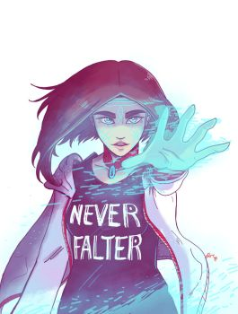 Never Falter Niya by R1NG0TEA