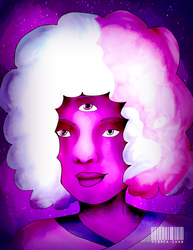 Cotton Candy Garnet by ReBaka-Chan