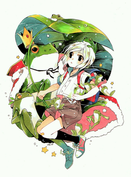 Frog King by Sei00