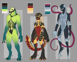 $40 Monster Adoptables - SOLD by Battleferrets
