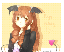HBD lily by Kit-Cats