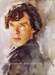 Sherlock - I can not think of a title... by RoryonaRainbow