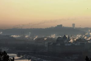 Cold Sunday Morning by ondrejZapletal