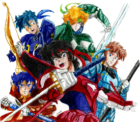 Ronin Warriors by Noloter