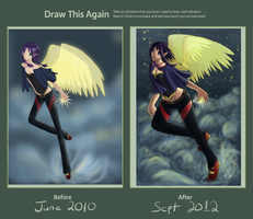 Light Mage - Draw this Again 2012 by laurenhiya21