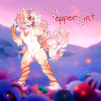 Woolyne Winter Advent: Peppermint (CLOSED) by Verlidaine