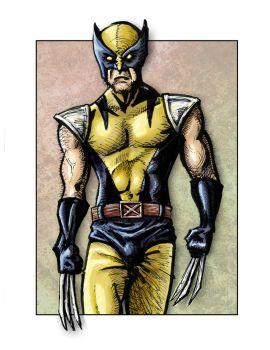 Wolverine by Rockness-Monster