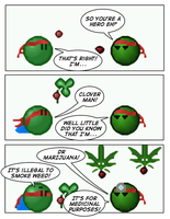 Emoticomic: Marijuana by DanVzare