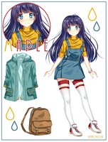 Maple Character sheet by naomochi