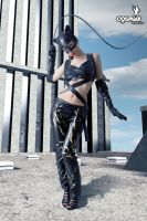 Catwoman week - Cassie by cosplayerotica