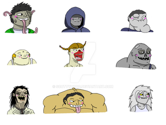 Infected Rape Face Collab by scottyhood