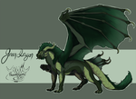 FLAT SALE | GREEN DRAGON [CLOSED] by FrossetHjerte