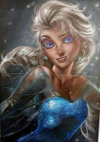 Elsa after teen by Thesadsteven