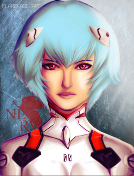 Rei Ayanami by FlareKage