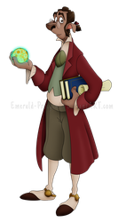 The Noted Astrophysicist by Emerald-Procyon