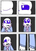 Request #4 Ttoba Sans Transforming page 1 by Stardraws143