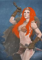 Red Sonja by sally1912