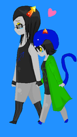 Equius x Nepeta by SGTCTOINFINITY
