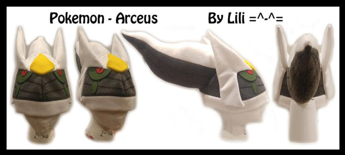4th Gen - Arceus V2 Hat  by LiliNeko