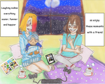 Slumber party and fangirl cries by chapparalgirl