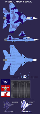 NLRAF F-25A Night Owl Fighter by lonewolf3878
