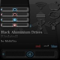 Black Aluminium Drives by Mphi5to