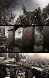 Ilh: the slums of Severoth by archityran