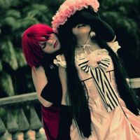 Madame red x Lady ciel by ButtersAnKau