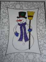Snowman by I230